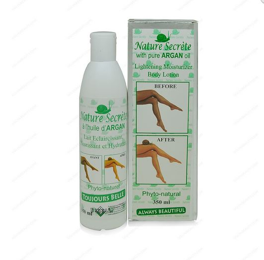 Nature Secrète with Pure Argan Oil Lightening Moisturizer Body Lotion