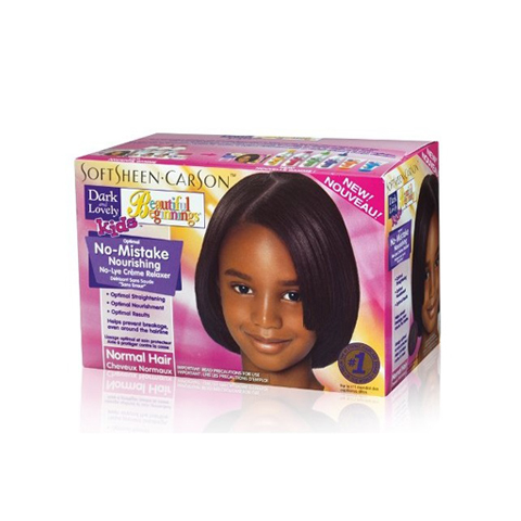 Dark and Lovely Beautiful Beginnings No Mistake Nourishing No Lye Creme Relaxer