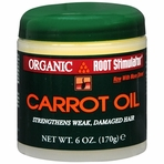 Organic Root Stimulator Carrot Oil for Damaged Hair