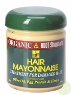 Organic Root Stimulator Olive Oil Hair Mayonnaise