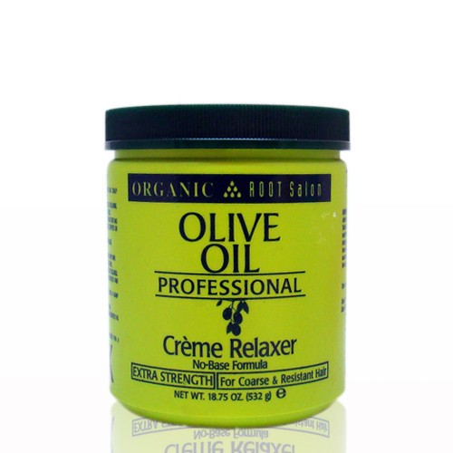 ORGANIC ROOT STIMULATOR OLIVE OIL NO BASE CREME RELAXER18.75 OZ