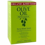 ORGANIC ROOT STIMULATOR OLIVE OIL NO LYE RELAXER SYSTEM