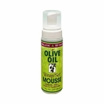 Organic Root Stimulator Olive Oil Wrap Set Mousse 7 oz