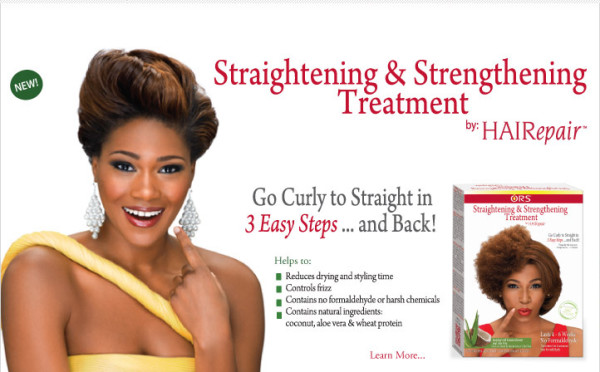 ORS HAIRepair Straightening And Strengthening Treatment KIT