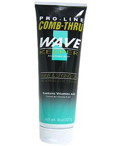 Pro Line Comb Thru Wave Keeper Wave & Styling Gel 8 oz