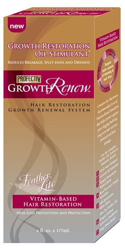 Profectiv Growth Renew Feather Lite Growth Restoration Oil Stimulant 6oz