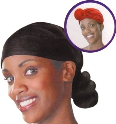 Qfitt Handmade Knotted Head Wrap -BLACK