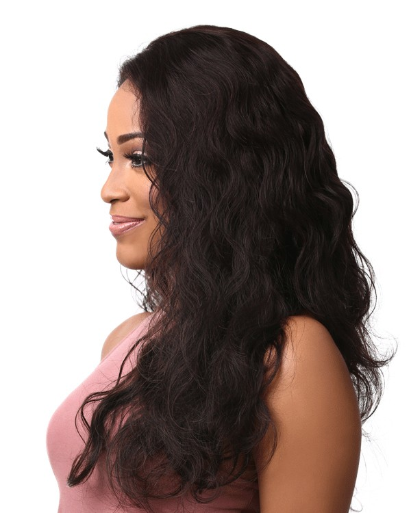 "Sensationnel Bare & Natural 100% Virgin Remi Human Hair Weave Lace Frontal Bundles BODY WAVE 12"" 14"" 16"""