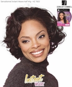 SENSATIONNEL HZ 7003 Half Wig Instant Weave