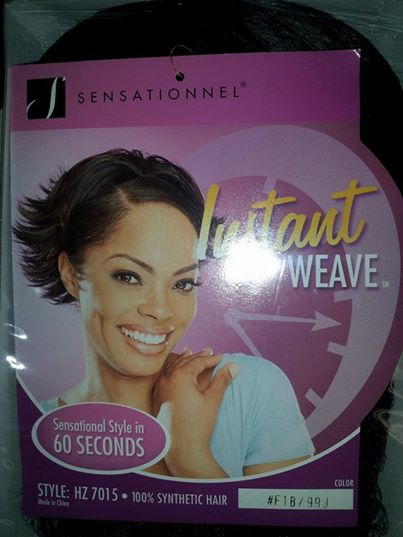 SENSATIONNEL HZ 7015 Half Wig Instant Weave