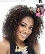 SENSATIONNEL HZ 7038 Half Wig Instant Weave