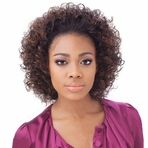 Sensationnel Instant Weave Synthetic Half Wig HZ 7046