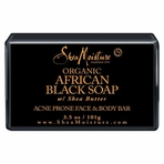 Shea Moisture Organic Bar  African Black Soap 3.5 oz