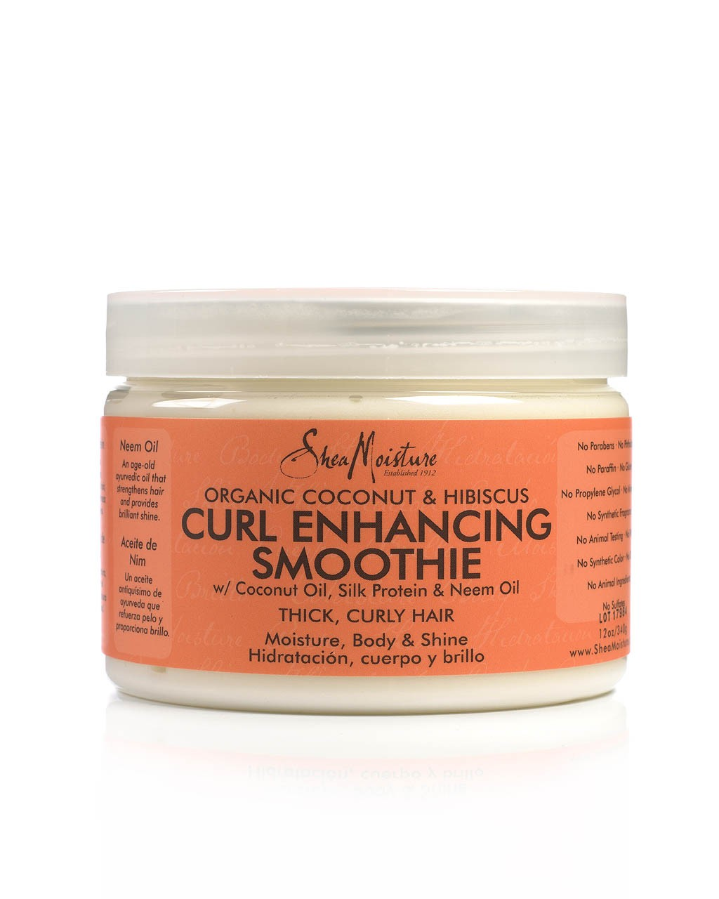 Shea Moisture Organic Curl Enhancing Smoothie Coconut & Hibiscus