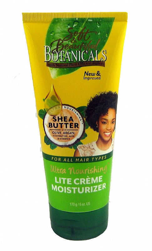 SOFT And BEAUTIFUL BOTANICALS LITE CREME MOISTURIZER 6 oz