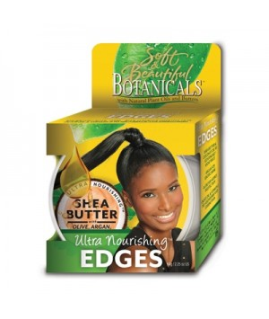 Soft And Beautiful Botanicals Ultra Nourishing Edge Gel  2.25oz