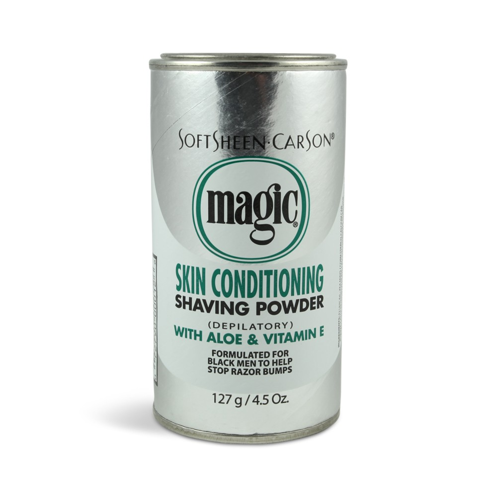 Softsheen Carson Magic Skin Conditioning Shaving powder Aloe and Vitamin E