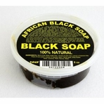 TAHA 100% Natural Organic African Black Soap 8 oz