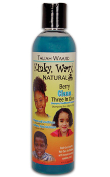 TALIAH WAAJID -Kinky, Wavy, Natural Berry Clean Three In One, 8oz