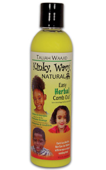 TALIAH WAAJID- Kinky, Wavy, Natural Easy Herbal Comb Out, 8oz