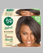 TCB NATURAL OLIVE OIL NO LYE RELAXER KIT