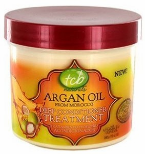 TCB Naturals Argan Oil Deep Conditioner Treatment 12 oz