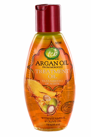 TCB Naturals Argan Oil Treatment Oil 4 oz