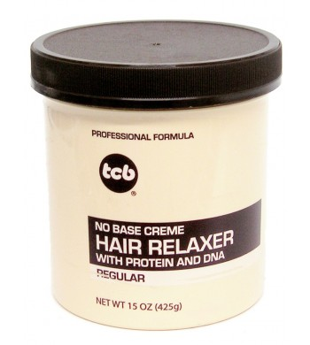 TCB NO BASE CREME HAIR RELAXER 15 OZ