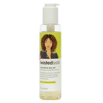 Twisted Sista Restorative Dry Oil 5 oz