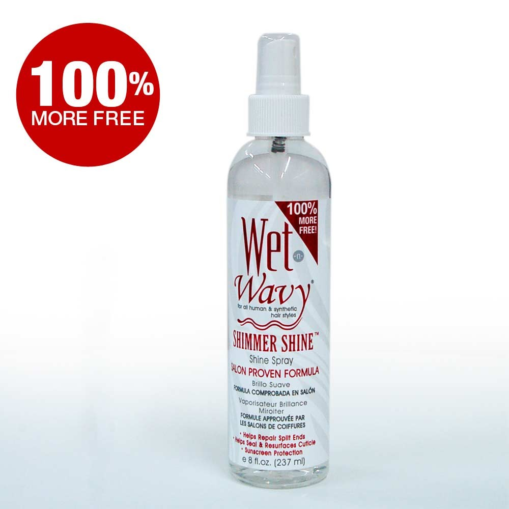 Wet-n-Wavy Shimmer Shine Spray 4oz