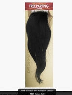 ZURY BRAZILIAN FREE PARTING LACE CLOSURE - STRAIGHT