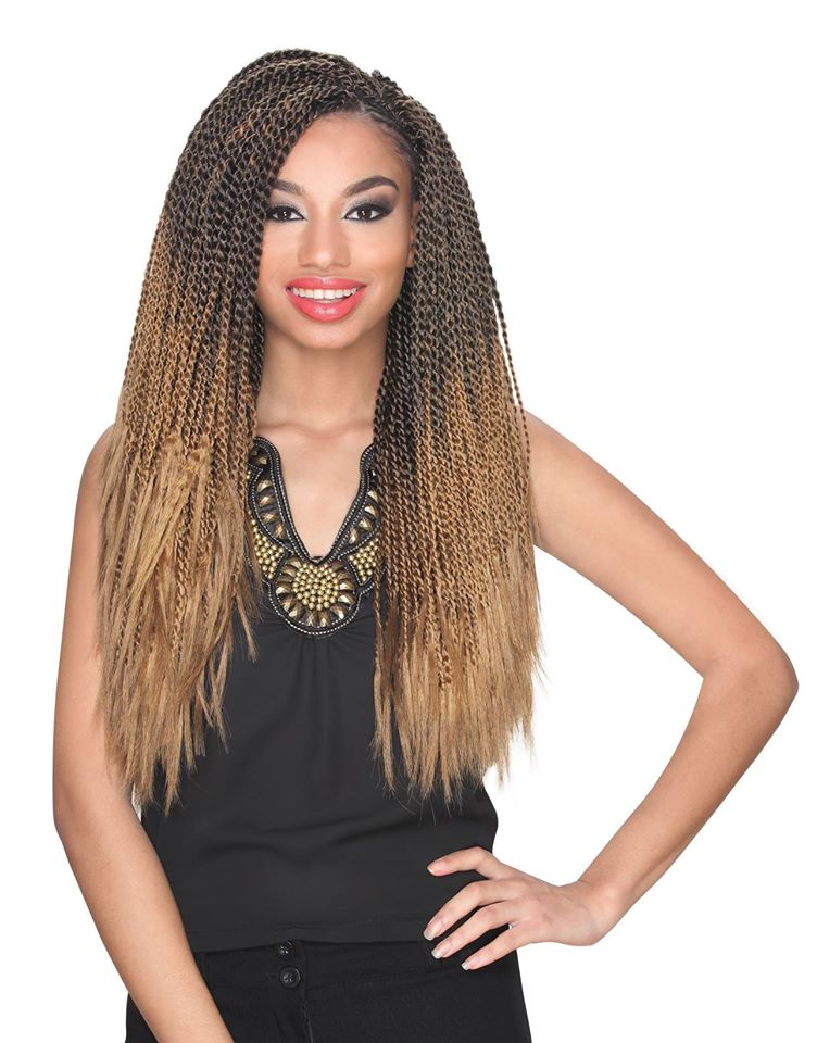 Zury Kanekalon Senegalese Twist Crotchet Braid 40""
