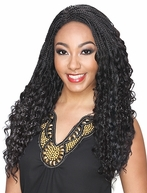 Zury Hollywood Sis Afro Braid Lace Front Wig JAMA