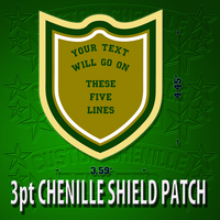 3 Point Shield Patch