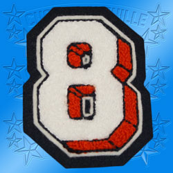 3D Number Patch