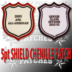 5 Point Shield Patch