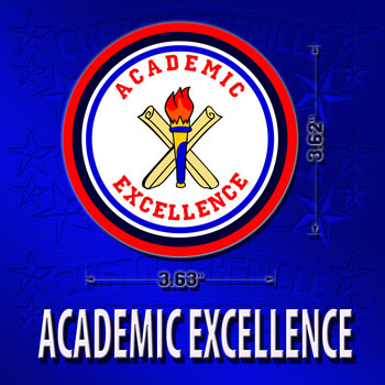 Academic Excellence Patch