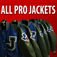 All-Pro Letterman Jacket Package