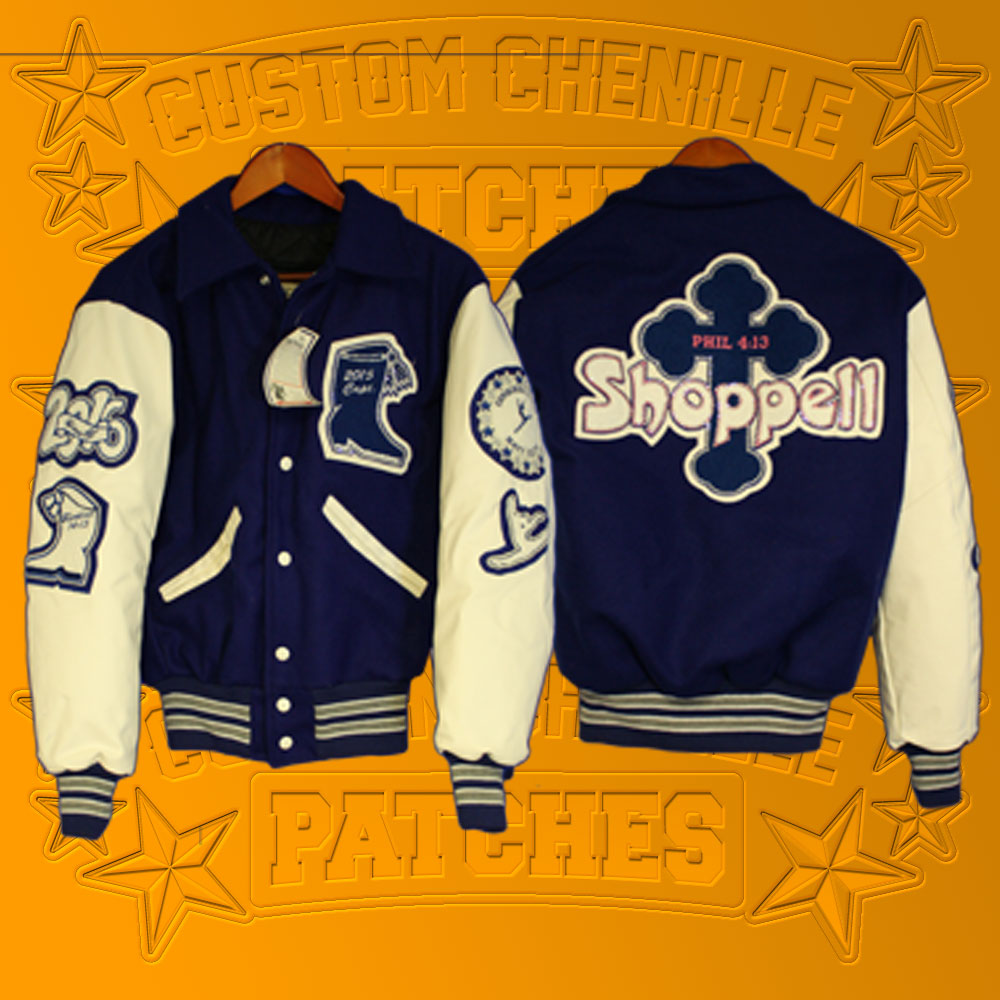 All-Pro Letterman Jacket Package from CustomChenilllePatches.com