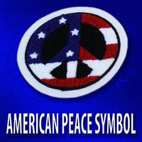 American Peace Symbol Patch