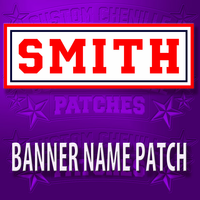 Banner Name Patch
