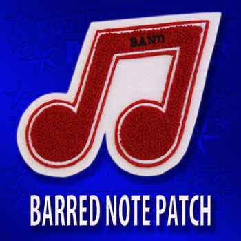 Barred Note Patch