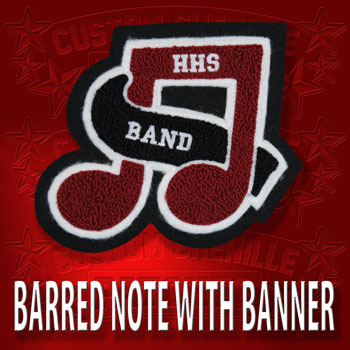 Barred Note with Banner