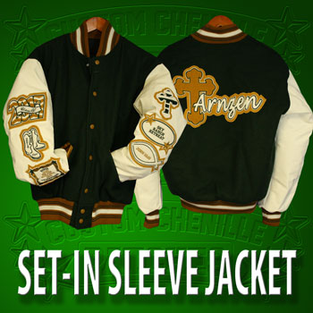 Basic Set-In Letterman Jacket