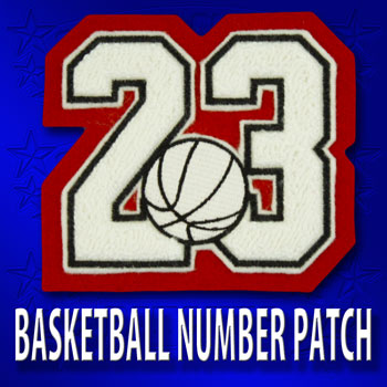 Basketball Number Patch