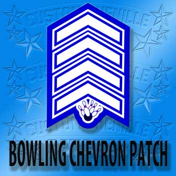 Bowling Chevron Patch