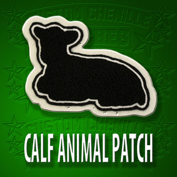 Calf Animal Patch