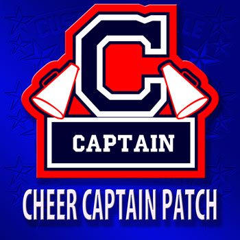 Cheerleading Captain Patch