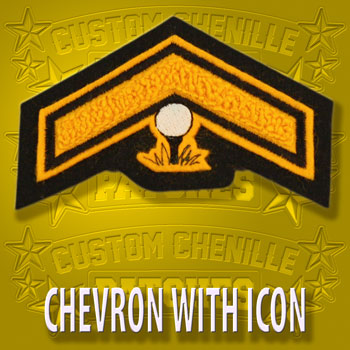Chevron Patch with Icon