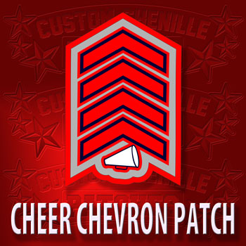 Chevron with Megaphone Patch